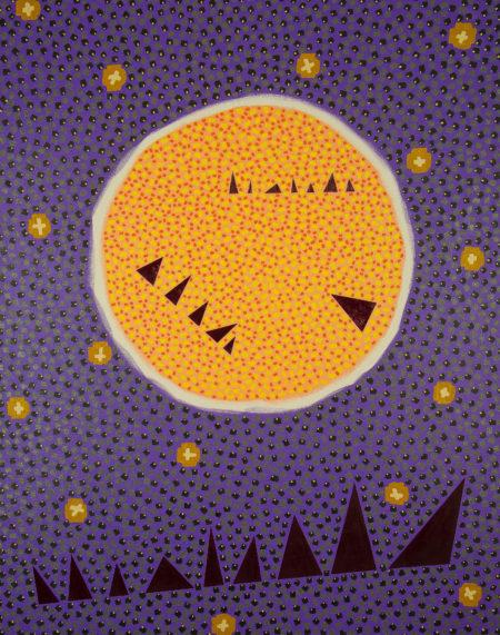 Moonrise Over Golden Gate Bridge Rod Jones Artist