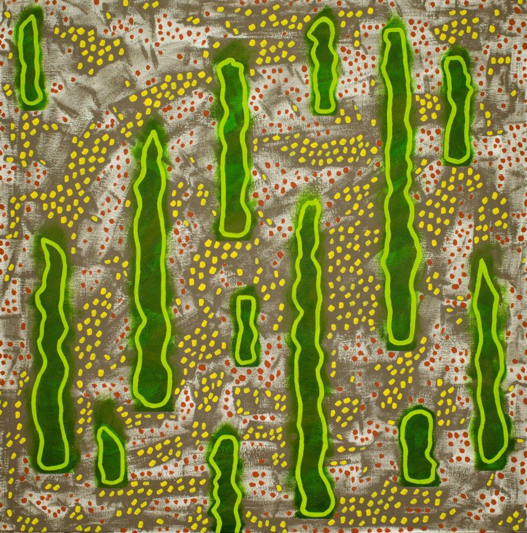 Valley of the Green Ghosts Rod Jones Artist