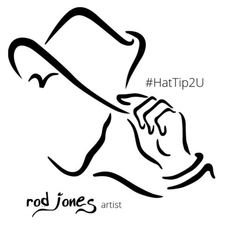 hattip2u rod jones artist rod jones artist tote bag