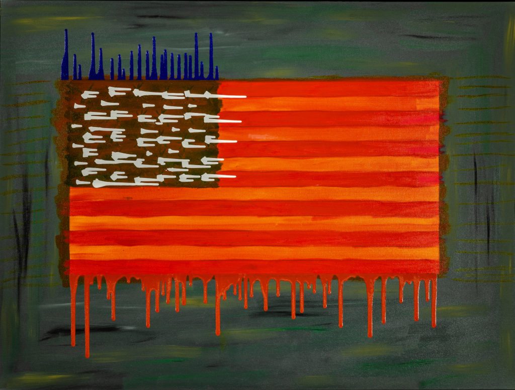 When America Weeps Rod Jones Artist