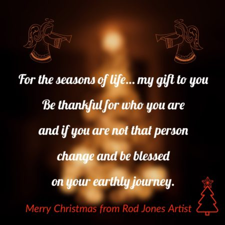 Rod Jones Artist Merry Christmas