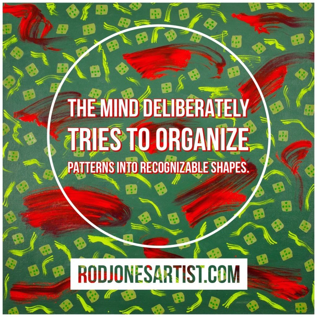 The Mind Deliberately Tried to Organize