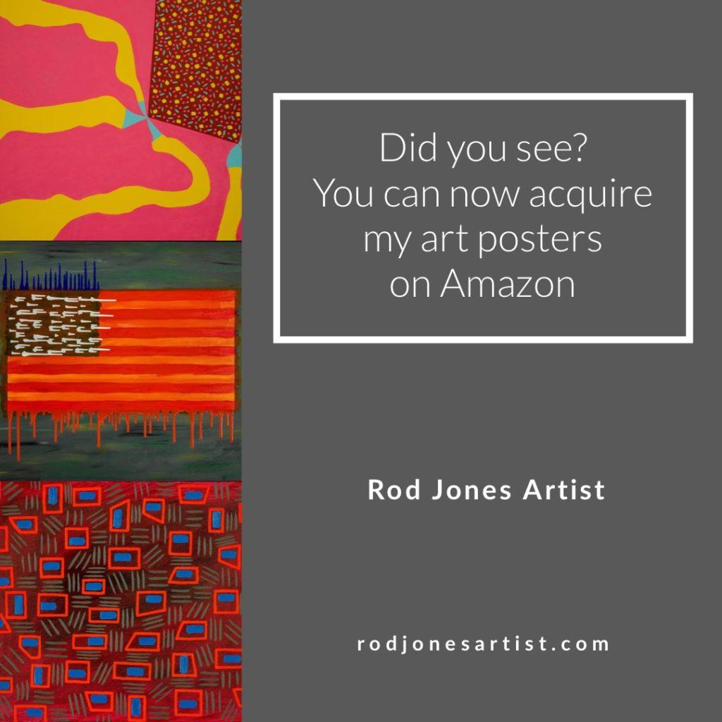 Rod Jones Artist on Amazon