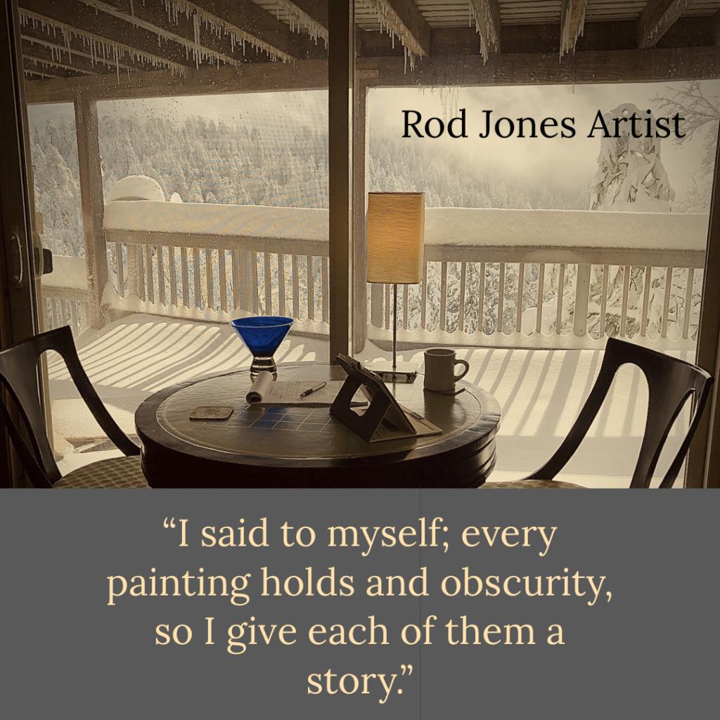 Rod Jones Artist Writes