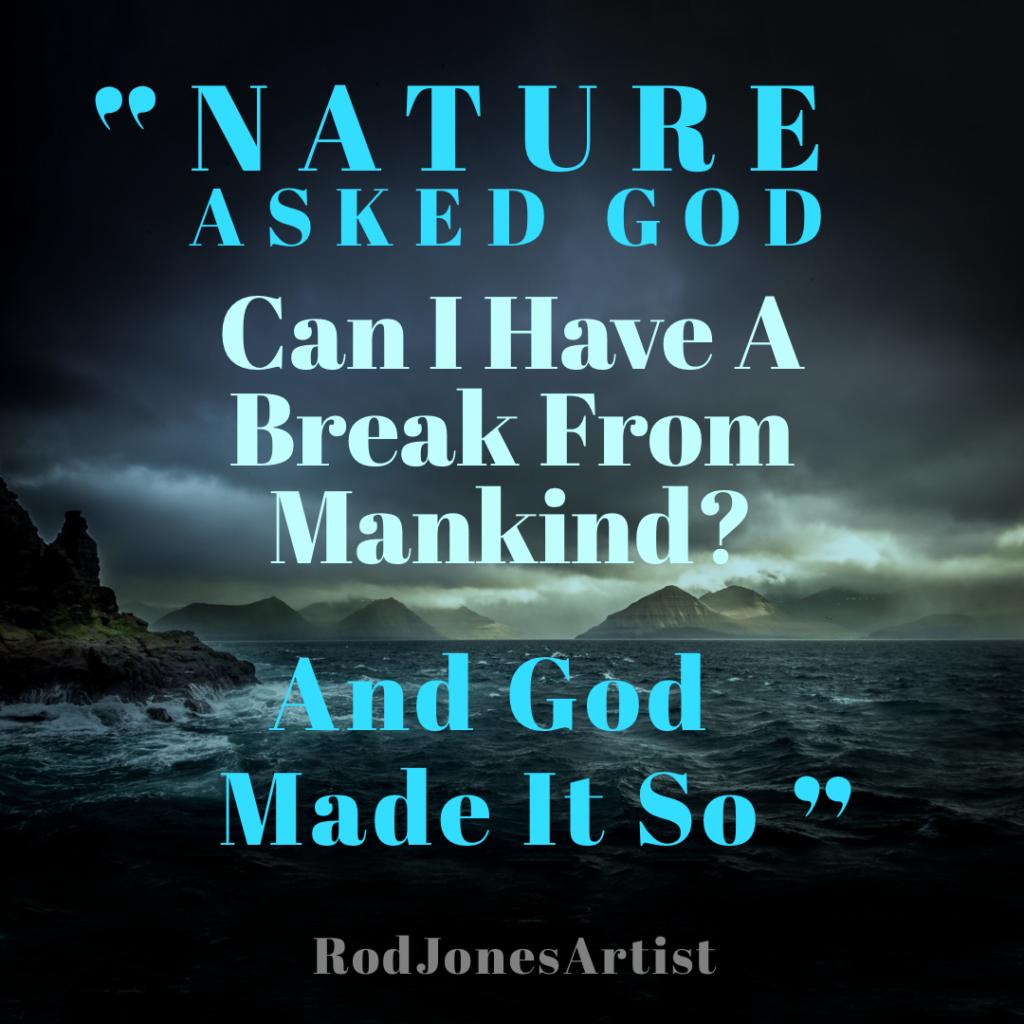 God in Nature   Rod Jones Artist